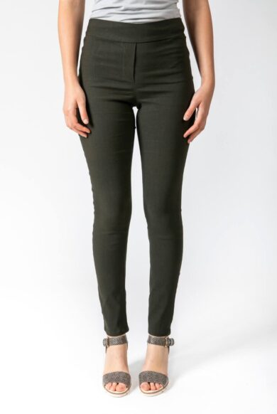 מכנסיים בגיזרת טייצ מכנסיים צמודים