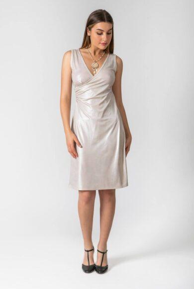 שמלת ערב בגיזרת מעטפת דגם מיוחדת פנינה