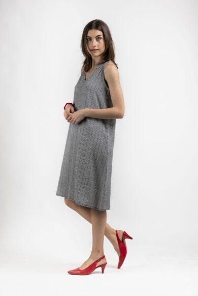 שמלת פסים אורלי גולן