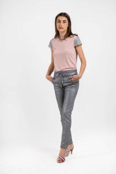 חולצת T דגם ג'לטין-פודרה