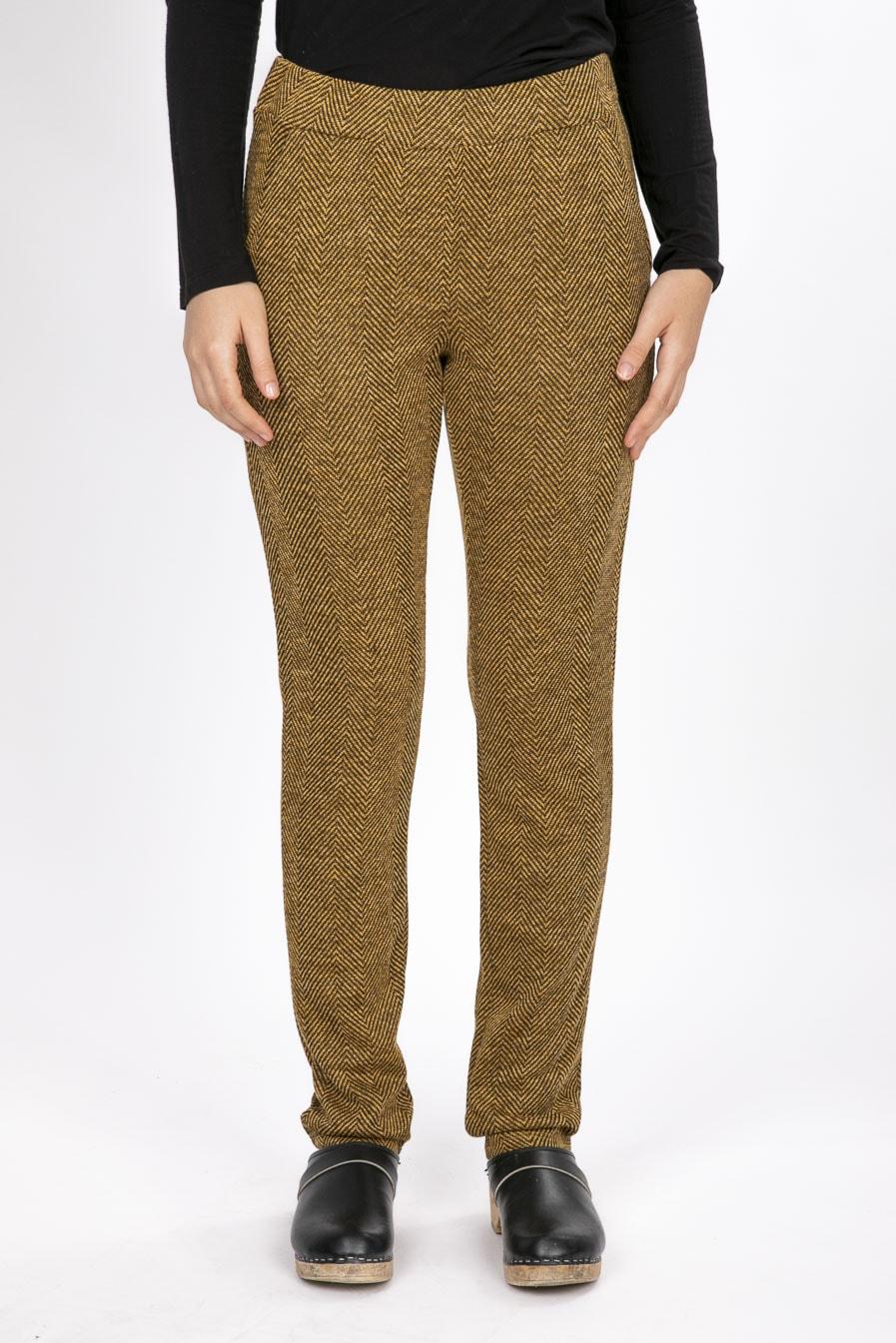 מכנסיים נוחים מבד נעים מכנסיים לחורף